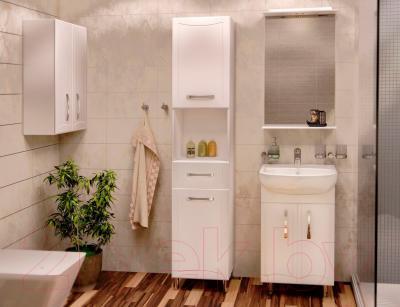 Зеркало для ванной Аква Родос Декор 50 - в интерьере