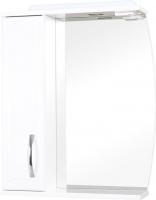 Шкаф с зеркалом для ванной Аква Родос Декор 65 L -