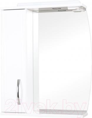 Шкаф с зеркалом для ванной Аква Родос Декор 65 L