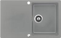 Мойка кухонная Teka Clivo 45 B-TQ / 40148001 (алюминий) -
