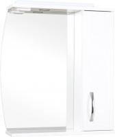 Шкаф с зеркалом для ванной Аква Родос Декор 70 R -