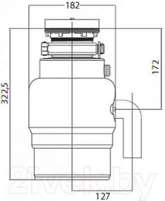 Измельчитель отходов Teka TR 34.1 (40197111)