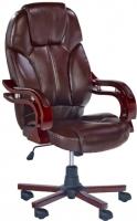 Кресло офисное Halmar Bernard (коричневый) -