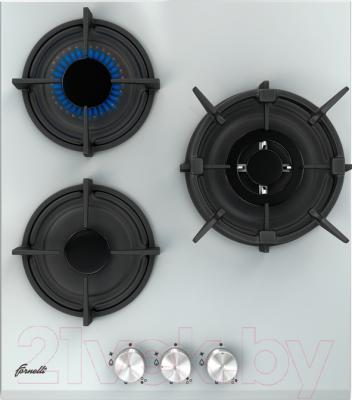 Газовая варочная панель Fornelli PGA 45 Fiero WH (00019881)