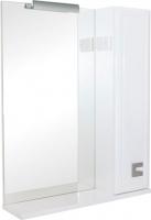 Шкаф с зеркалом для ванной Аква Родос Мобис 65 R -