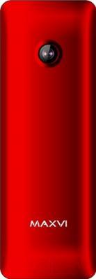 Мобильный телефон Maxvi M10 (красный)