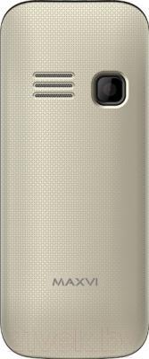 Мобильный телефон Maxvi C5 (золотой)