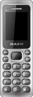 Мобильный телефон Maxvi M11 (черный)