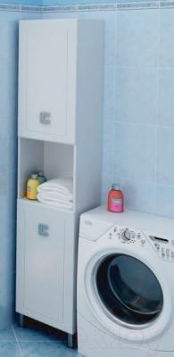 Шкаф-пенал для ванной Аква Родос Мобис 35 R - в интерьере