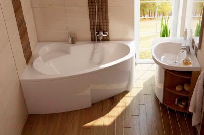 Ванна акриловая Ravak Asymmetric 170x110 R (C491000000)