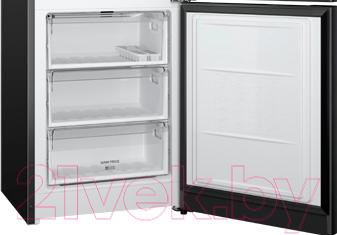 Холодильник с морозильником Hotpoint HF 9201 B RO