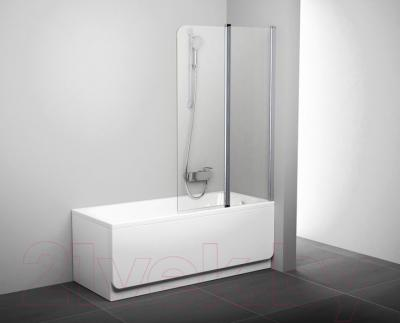 Стеклянная шторка для ванны Ravak CVS2-100 R (7QRA0C00Z1)