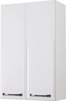 Шкаф-полупенал для ванной Аква Родос Декор 50