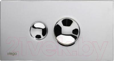 Кнопка для инсталляции Viega Visign for Style 10 (сатин хром)