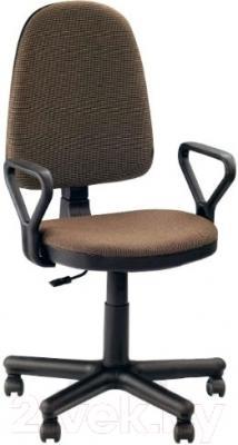 Кресло офисное Новый Стиль Prestige GTP New (C-24, коричневый)