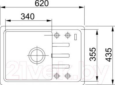 Мойка кухонная Franke BSG 611-62 (114.0391.170)