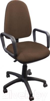 Кресло офисное Nowy Styl Zeus GTP (коричневый/C-24/нейлон)
