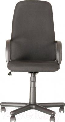 Кресло офисное Новый Стиль Diplomat (серый/С-38) - вид спереди
