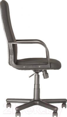 Кресло офисное Новый Стиль Diplomat (серый/С-38) - вид сбоку