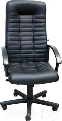 Кресло офисное Nowy Styl Boss (черный/металл)