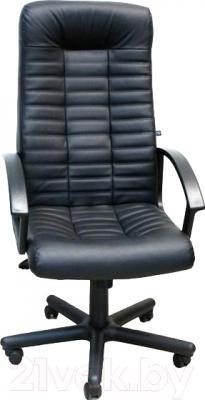 Кресло офисное Новый Стиль Boss SP-А (черный/металл)