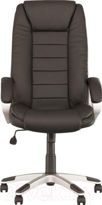 Кресло офисное Новый Стиль Dakar (Eco-30/черный) - вид спереди