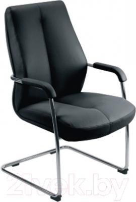 Стул офисный Новый Стиль Sonata CF\LB Steel Chrome LE-A (черный)