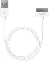 Кабель USB Deppa 72101 (белый) -