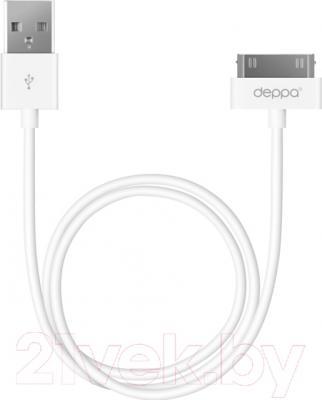 Кабель USB Deppa 72101 (белый) - Deppa 72101