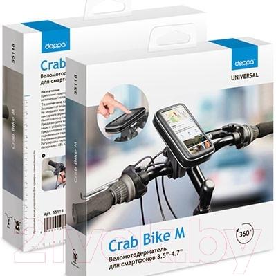 Держатель для портативных устройств Deppa Crab Bike М 55118