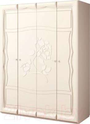 Шкаф Мебель-Неман Астория МН-218-03 (кремовый)
