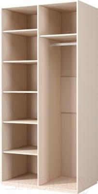 Шкаф Мебель-Неман Астория МН-218-05 (кремовый) - внутри