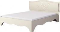 Двуспальная кровать Неман Астория МН-218-01 (кремовый) -