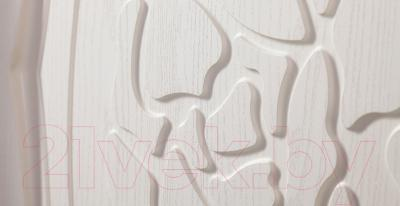 Двуспальная кровать Мебель-Неман Астория МН-218-01 (кремовый)