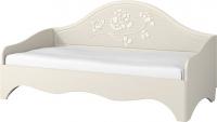Односпальная кровать Неман Астория МН-218-12 (кремовый) -