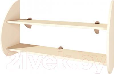 Полка Мебель-Неман Астория П-2 (кремовый)