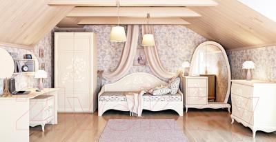 Прикроватная тумба Мебель-Неман Астория МН-218-02 (кремовый) - в интерьере