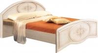 Двуспальная кровать Неман Василиса К2-160 (дуб беленый/патина) -