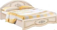 Двуспальная кровать Неман Василиса К1-160 (дуб беленый/патина) -