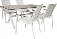 Комплект садовой мебели Garden4you Avon 2218/4 (темно-серый) -