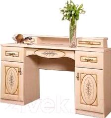 Туалетный столик Мебель-Неман Василиса СП-001-07 (дуб беленый/патина)