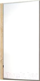 Зеркало интерьерное Мебель-Неман Домино Сонома ВК-04-21 (белый полуглянец/дуб Сонома)