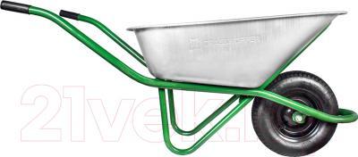 Тачка строительная Grasshopper WB4018G (1 колесо)
