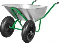 Тачка строительная Grasshopper WB4018G (2 колеса) -