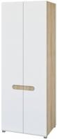 Шкаф Мебель-Неман Леонардо МН-026-22 (белый полуглянец/дуб Сонома) -
