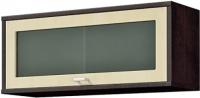 Шкаф навесной Мебель-Неман Домино Венге ВК-04-15 (береза/венге) -