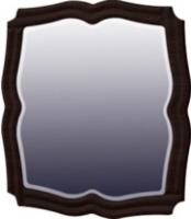 Зеркало интерьерное Мебель-Неман Тиффани МН-122-08 (белый полуглянец/венге) -