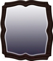 Зеркало интерьерное Мебель-Неман Тиффани МН-122-08 (белый полуглянец/венге)