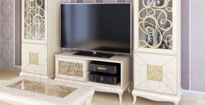 Журнальный столик Мебель-Неман Гармония МН-120-03 (кремовый/патина)
