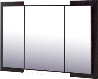 Зеркало интерьерное Мебель-Неман Барселона МН-115-08 (белый глянец/дуб Ниагара)